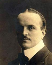 foto del Dott. Theodor Knottnerus-Meyer, primo direttore del Giardino Zoologico di Roma